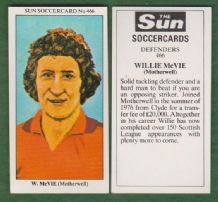 Motherwell Willie McVie